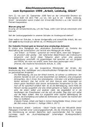 symposion 1999 - Freinet-Kooperative eV