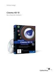 Cinema 4D 13 (PDF) - Galileo Design
