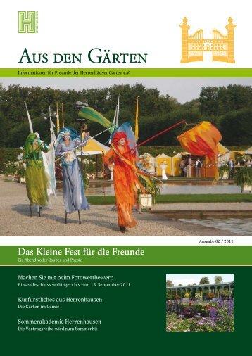 pdf zum Download (2,3 MB) - Freunde-der-herrenhaeuser-gaerten ...