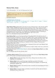 Ramsay Hunt, James - Gästebücher von Schloss Neubeuern