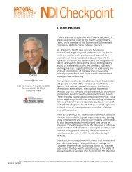 Speaker Bios - Foley & Lardner LLP