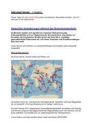 SIRIUSNETWORK ? 7.10.2011 - Forum-Bioenergetik eV