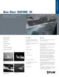 Sea Star SAFIRE™ III - Flir Systems