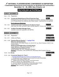3rd NATIONAL FLOODPROOFING CONFERENCE