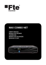 MAX COMBO NET - FTE Maximal