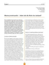 Blastozystentransfer - Kantonsspital Baden