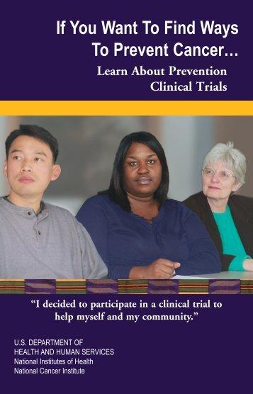 Cancer Prevention Trials