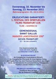 Programm PDF - Evangelische Akademie Arnoldshain