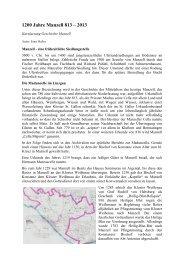 1200 Jahre Manzell 813 – 2013 - Friedrichshafen