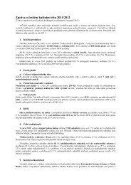 Zpráva o českém knižním trhu - Fraus