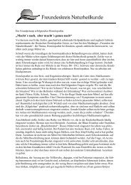 Pressemitteilung Vortrag Homöopathie bei Kindern - Freundeskreis ...