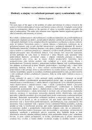 Hodnoty a záujmy vo vedeckom poznaní: spory o autonómiu vedy.