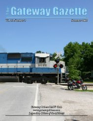 Vol. 33 Number 3 Summer 2005 - Gateway Riders Index