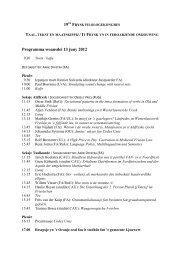 Programma woansdei 13 juny 2012 - Fryske Akademy