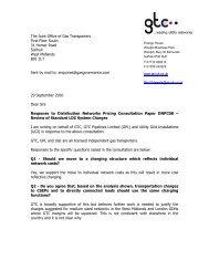 29 September 2010 Representation - GTC Pipelines - Joint Office of ...