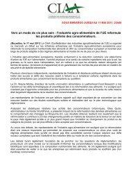 Europe's food industry drives reformulation of ... - FoodDrinkEurope