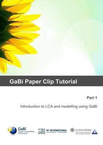 GaBi Paper Clip Tutorial - GaBi Software