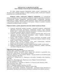 Požiadavky na prijímacie skúšky - test všeobecných študijných ...