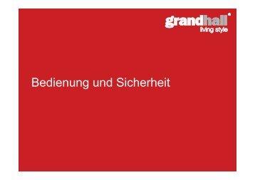 Grandhall allgemeine Grill Bedienung- und ... - Gardelino