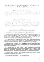 1 Disegno di legge costituzionale recante - Dipartimento Funzione ...