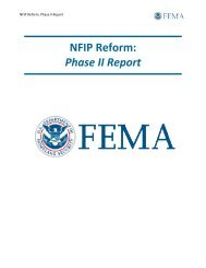 NFIP Reform: Phase II Report - The Association of State Floodplain ...