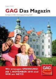 GAG Das Magazin - Stadtwerke Ahrensburg GmbH