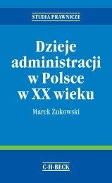 Dzieje administracji w Polsce w XX wieku - Gandalf