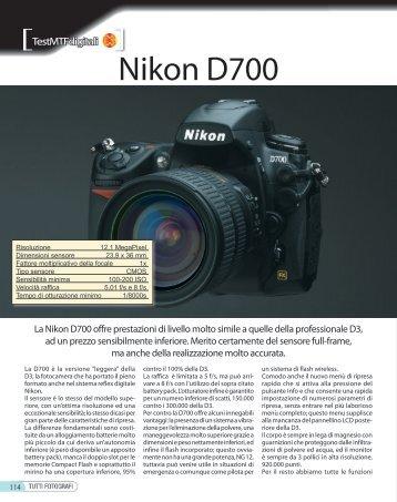 Nikon D700 - Fotografia.it