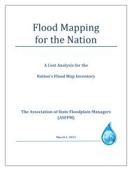 Flood Mapping for the Nation - The Association of State Floodplain ...