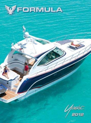 Yacht Brochure - 2012 - Formula Boats