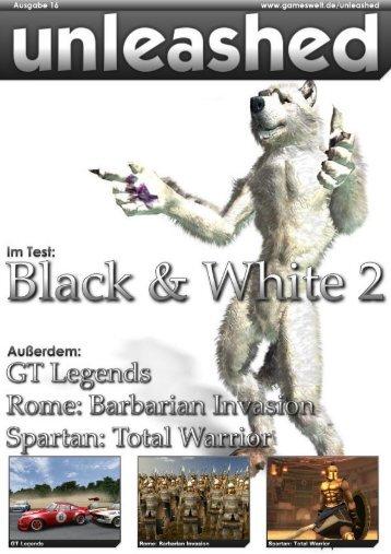 Unleashed - Ausgabe 16 - Gameswelt