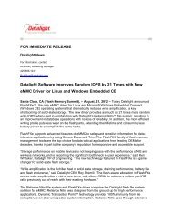 Datalight Software Improves Random IOPS by 21 Times with New ...