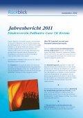 newsletter 2012 - Förderverein Palliative Care - Page 4