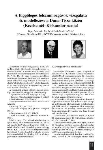 dr. Joó István–Balázsik Valéria