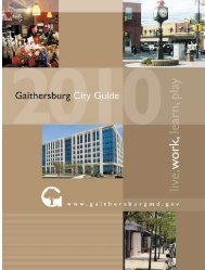 Gaithersburg City Guide