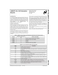 Application Note 1135 LM267X 3A, 5A Evaluation Boards - Bitsavers