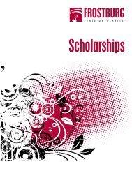 scholarship booklet - Frostburg State University