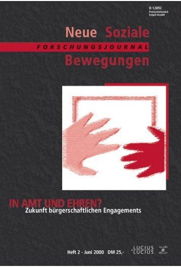 Vollversion (8.77) - Forschungsjournal Soziale Bewegungen