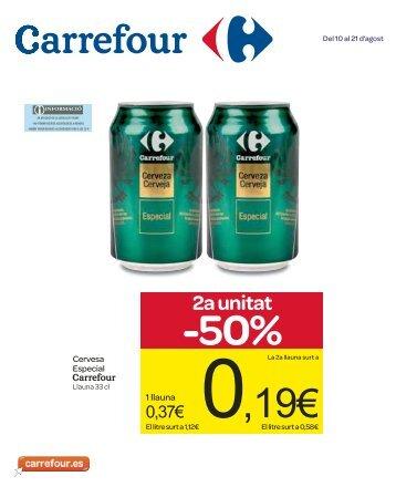 2a unitat -50% - Carrefour