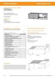 AC/DC Systeme www.franke-iv.de - FIV Franke Industrievertretungen