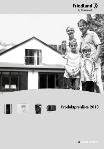 Preisliste 2013 - Friedland