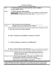 Praying with Scripture.pdf - Flocknote