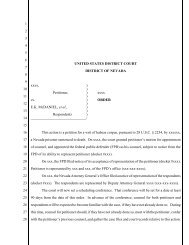 Appendix E-5: District of Nevada—General Procedure Order