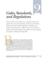 Codes, Standards, and Regulations - Florida Building Code ...