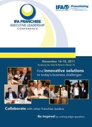 Find innovative solutions - International Franchise Association