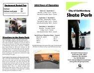 Skate Park - City of Gaithersburg