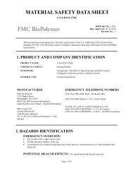 A-NA-IOTA FMC - FMC Corporation