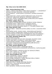 2009 - diplomové práce (PDF)