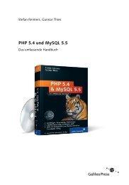 PHP 5.4 und MySQL 5.5 (PDF) - Galileo Computing