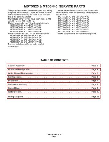 MDT5N25 - Fox Appliance Parts of Macon, Inc.